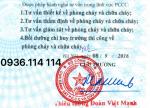 Nhà thầu trọn gói PCCC Nhà Văn Phòng Cty Thành Long,Q6